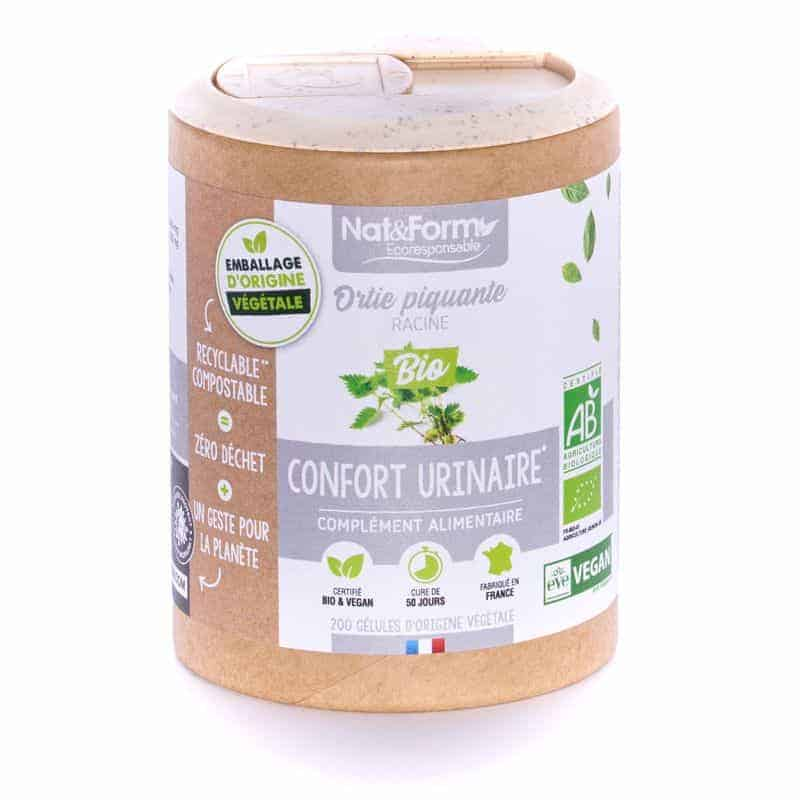 Nat&Form Ecoresponsable Ortie Piquante Racines Bio 200 Gélules