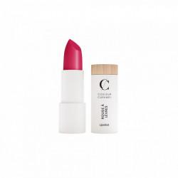 Couleur Caramel Rouge à lèvres mat N°123 Rose Vif 3.5g