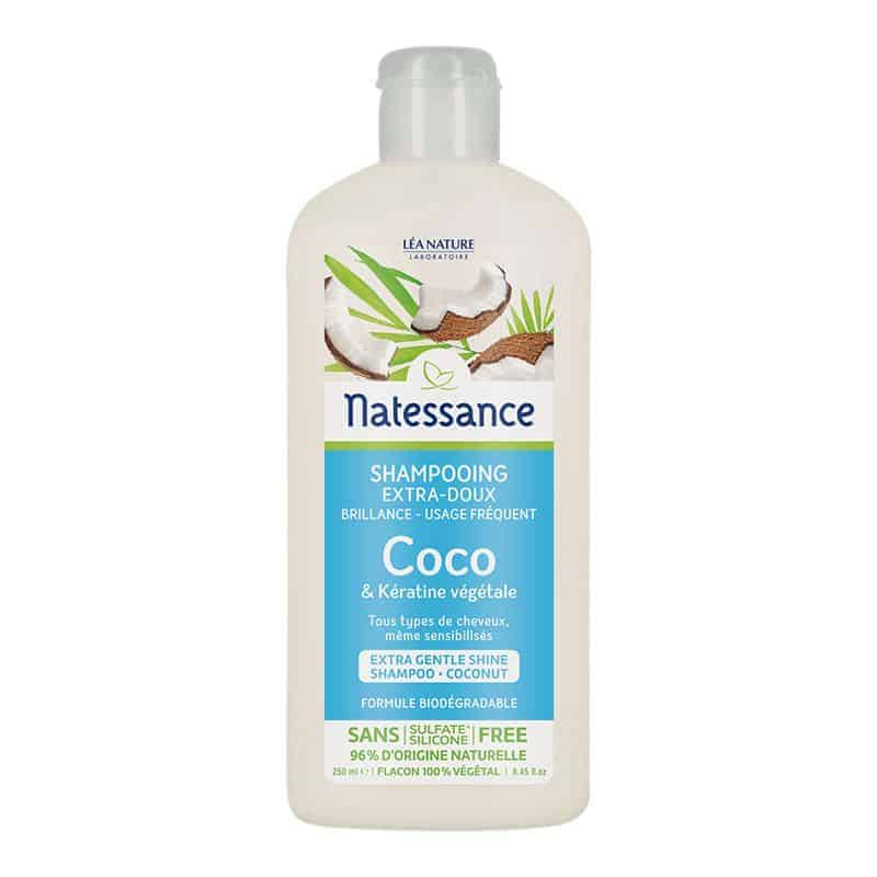 Natessance Shampooing Brillance Coco 250ml