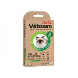 Vetosan Pipette Répulsives Chaton et Chat 2 pipettes de 1ml