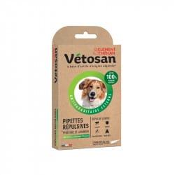 Vetosan Pipette Répulsives Moyen et Grand Chien 2 pipettes de 3ml