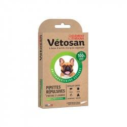 Vetosan Pipette Répulsives Chiot et Petit Chien 2 pipettes de 1,5ml