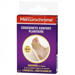 Mercurochrome Coussinet Plantaire Confort boite de 2