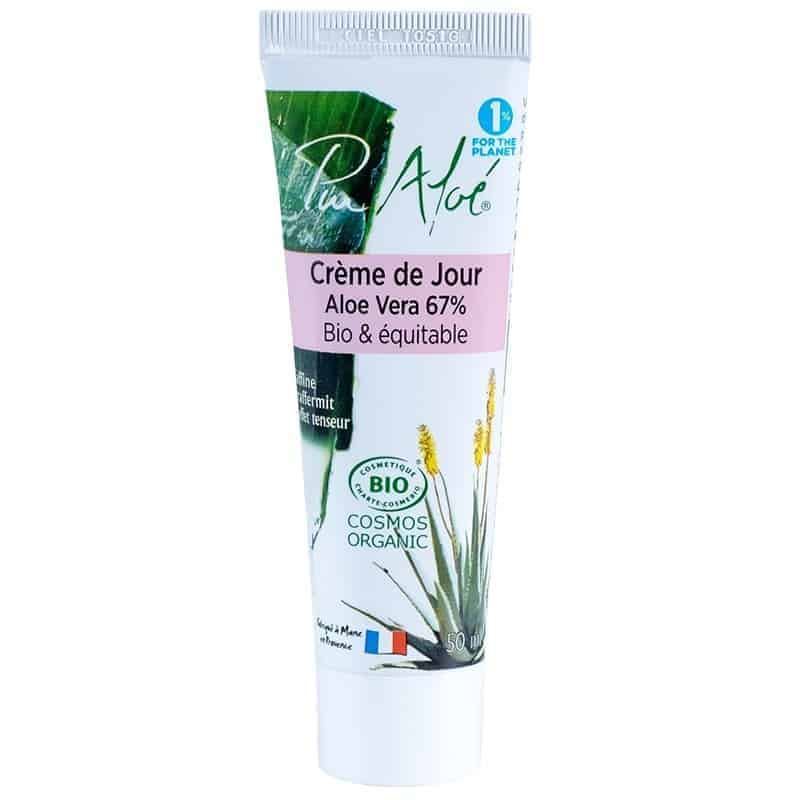 Pur Aloe Crème de Jour Aloe Vera Bio 67% 50ml