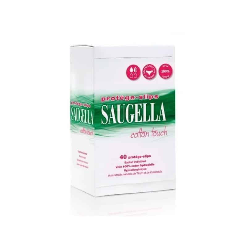 Saugella Cotton Touch Protège-Slips 40 sachets individuels