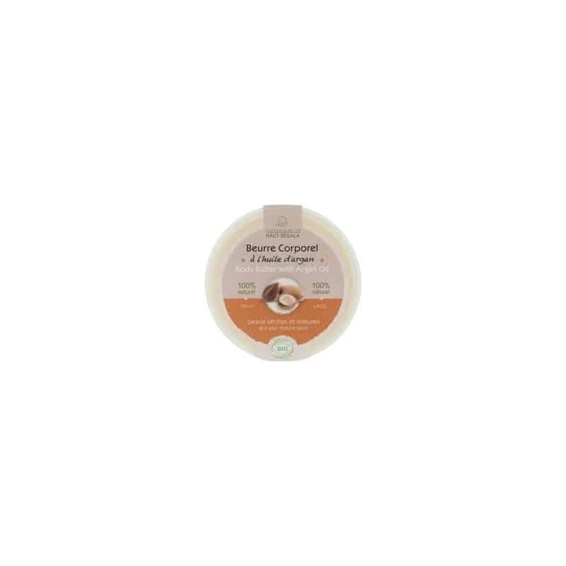 Haut Ségala Beurre Corporel à l'huile d'Argan Biologique 120ml