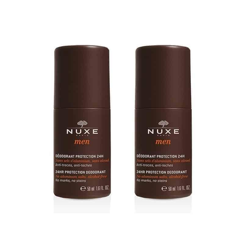 Nuxe Men Déodorant Protection 24h 2 x 50ml