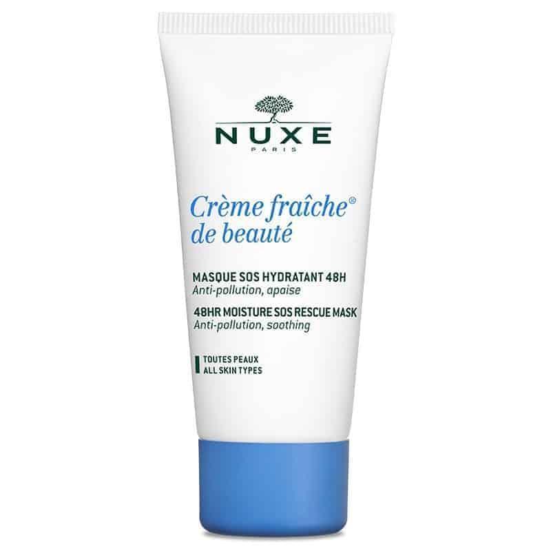 Nuxe Crème Fraîche de Beauté Masque Hydratant Tube 50ml