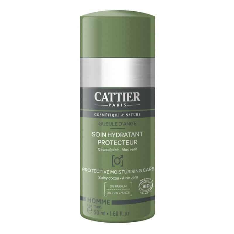 Cattier Homme Crème Soin Hydratant Protecteur 50ml